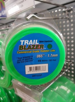 Trailblazer Trimmer Line 1.7mm Teardrop Loops